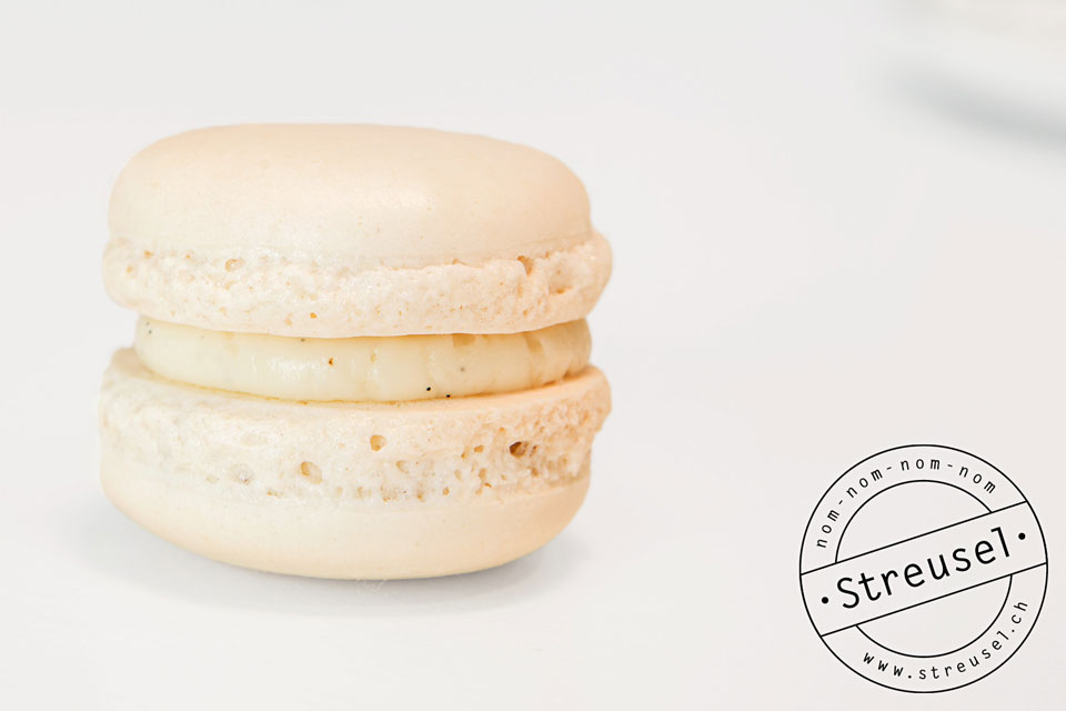 Vanille-Macarons mit Vanille-Buttercreme