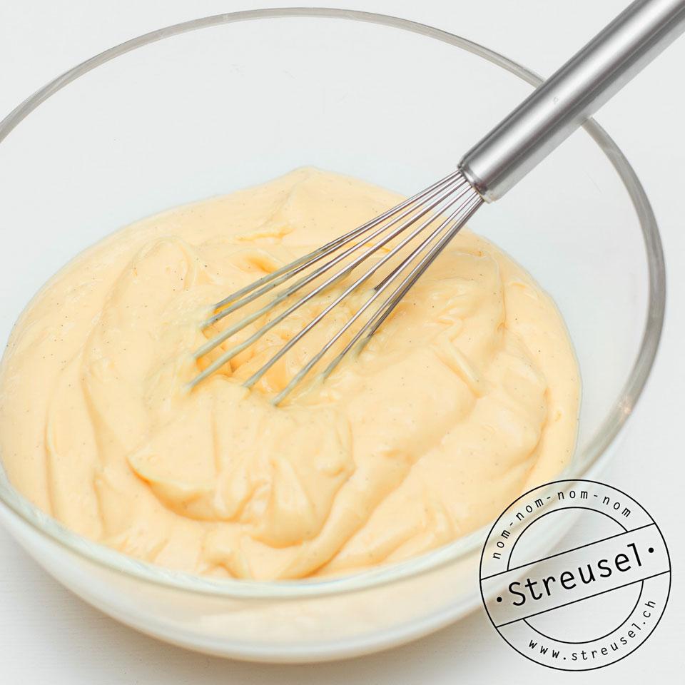 Vanillecreme für Torten