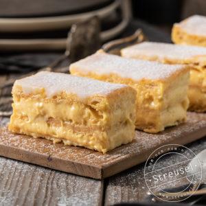 Rezept für Vanillecreme / Vanillepudding für Torten – selber machen