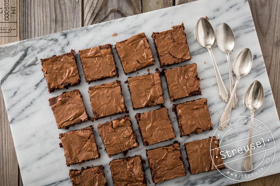 Rezept für Brownies ohne Nüsse – selber machen