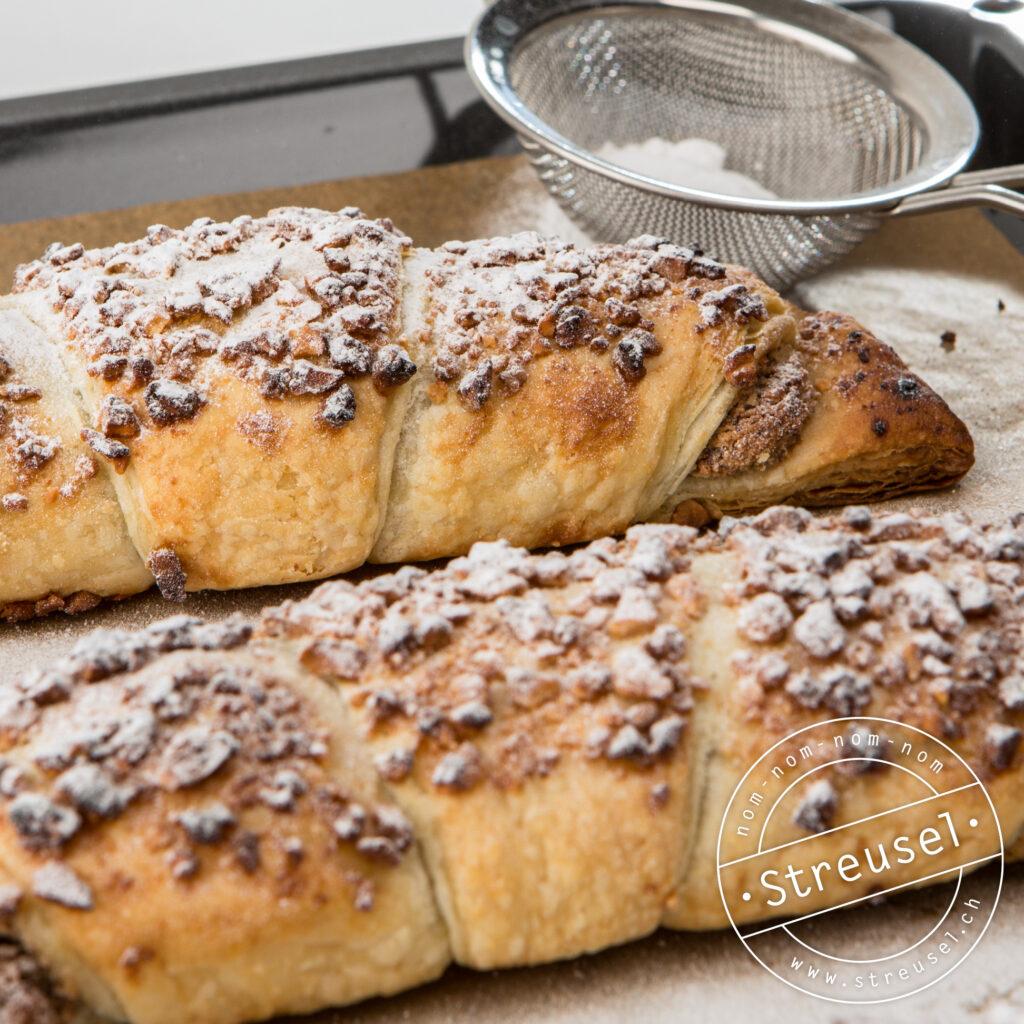 Rezept für Blätterteignussgipfel wie vom Bäcker – selber machen