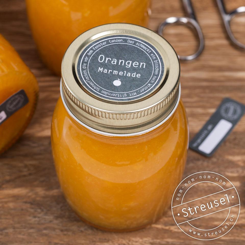 Orangen-Marmelade ohne Gelierzucker Rezept