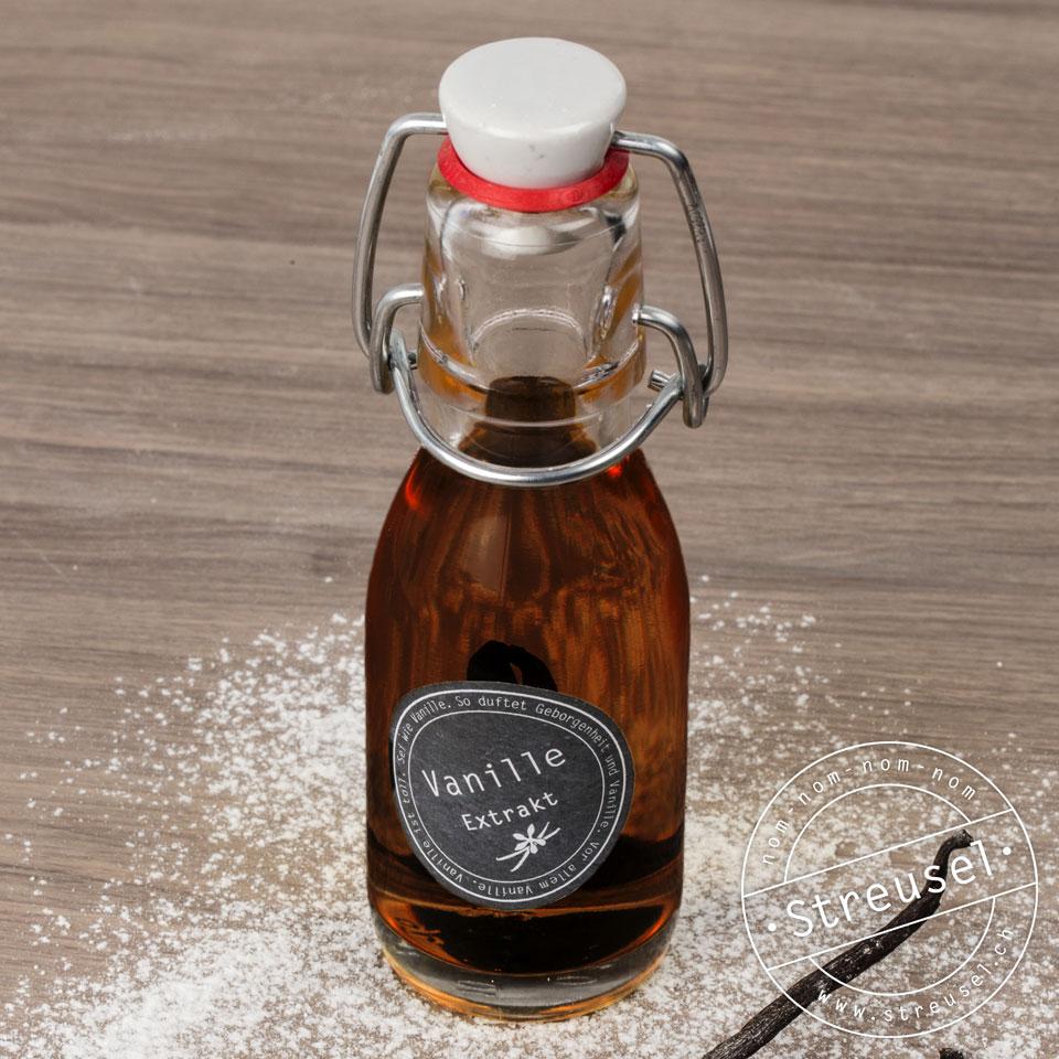 Vanille-Extrakt Rezept