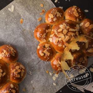 Rezept für Drei-Königskuchen mit Rosinen, der Schmeckt wie vom Bäcker