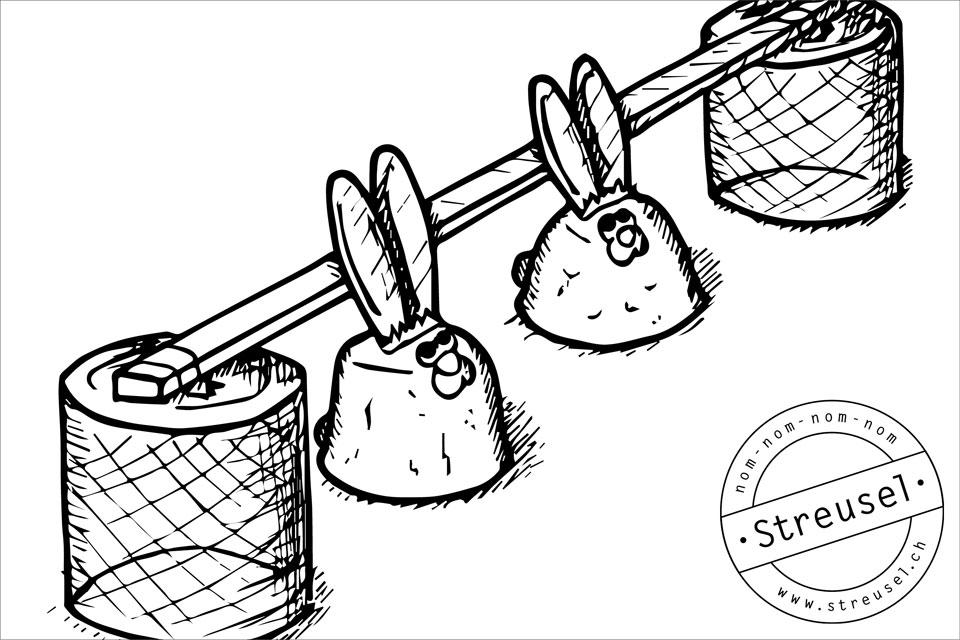 Schokoladen Osterhasen selbermachen, ohne Profi-Giessform