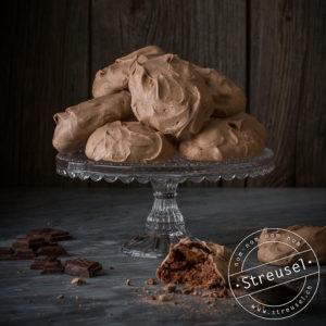 Rezept für Schokoladen-Meringues / Schokoladen-Baisers – selber machen