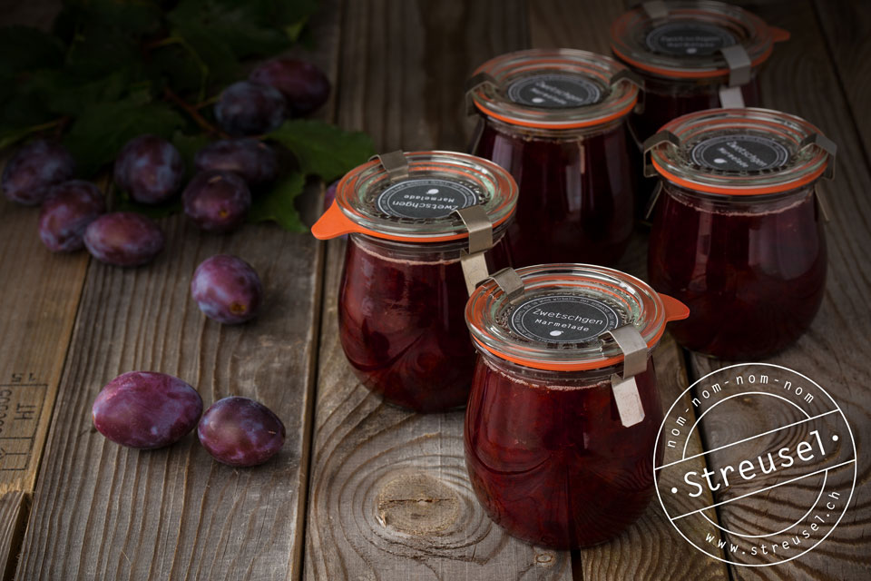 Rezept für Zwetschgen Marmelade ohne Gelierzucker – selber machen