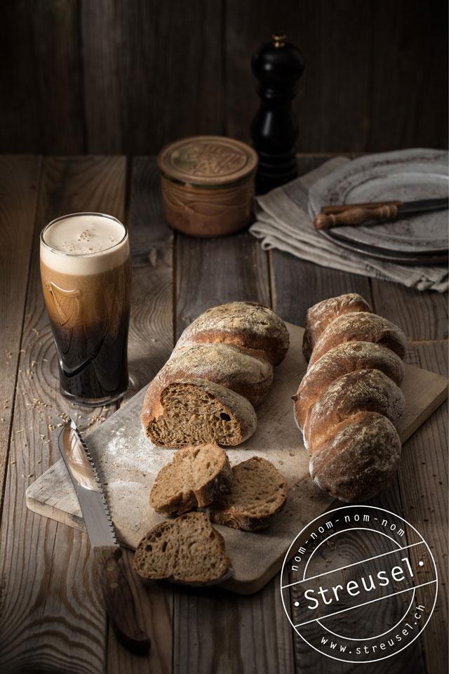 Rezept für Anis-Bier-Brot – selber machen z.B. mit Guinness