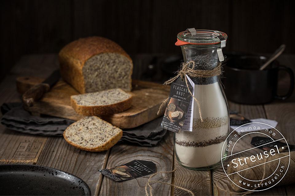 Rezept für Flaschenbrot mit Kernen – selber machen