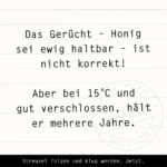 Food Facts zu Honig
