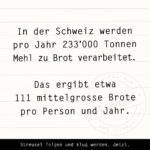 Food Facts zu Brot