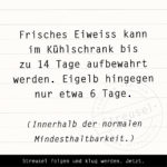 Food Facts zu Eier