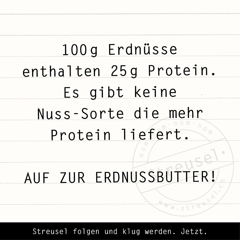 Food Facts zu Erdnüssen