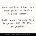 Food Facts zu Gemüse