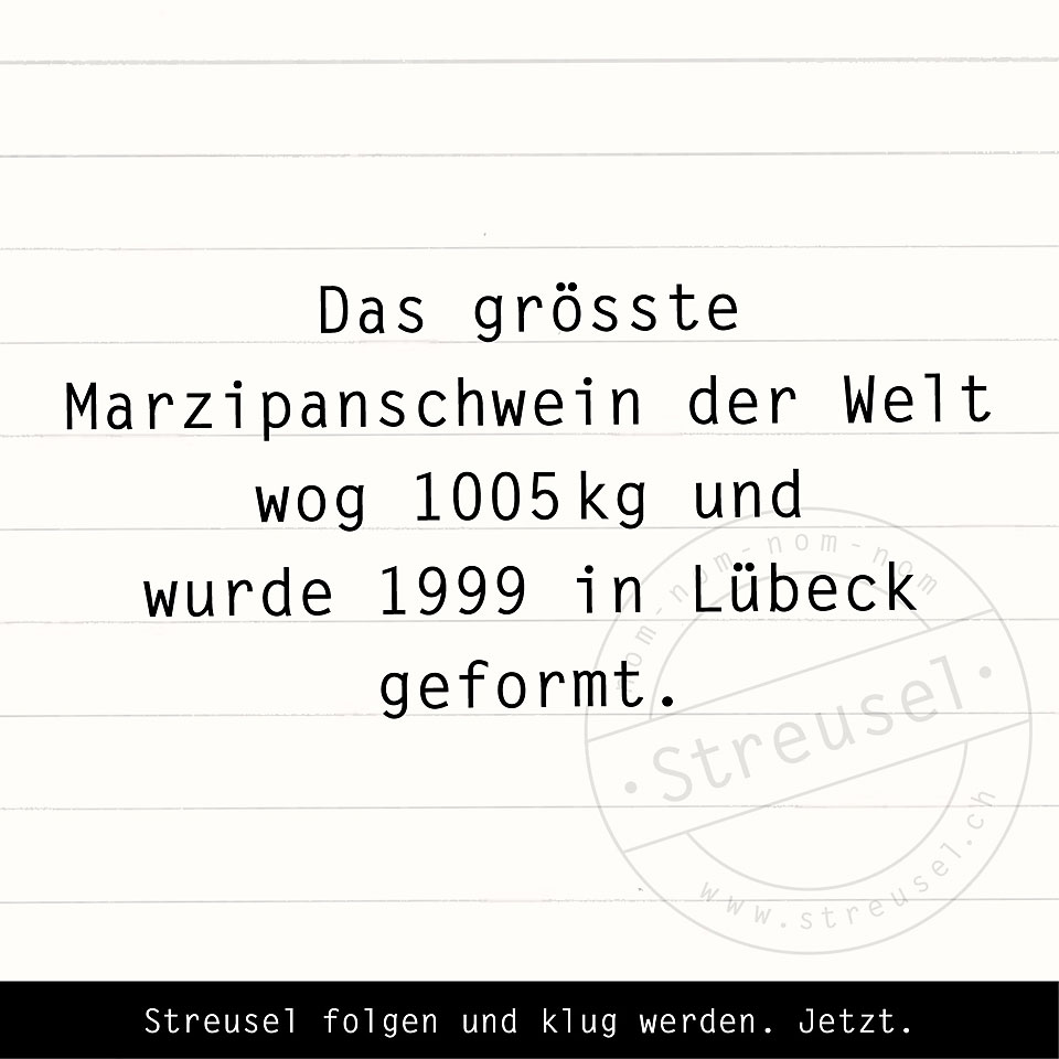 Food Facts zu Marzipan