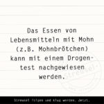 Food Facts zu Mohn