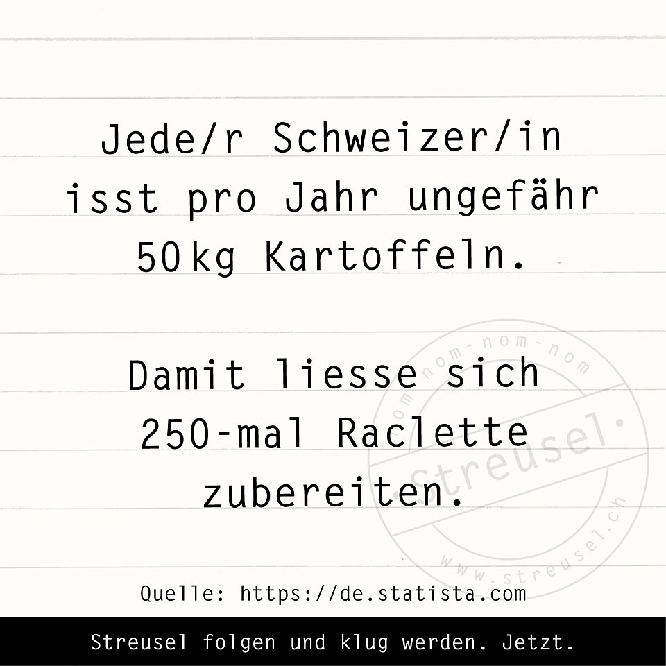 Food Facts zur Kartoffel
