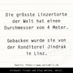 Food Facts zur Linzertorte.
