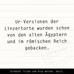 Food Facts zur Linzertorte