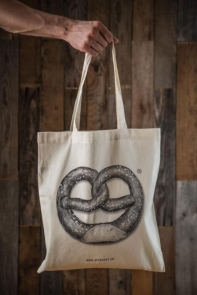 Stofftasche «Brezel» - Jetzt kaufen bei Streusel.ch
