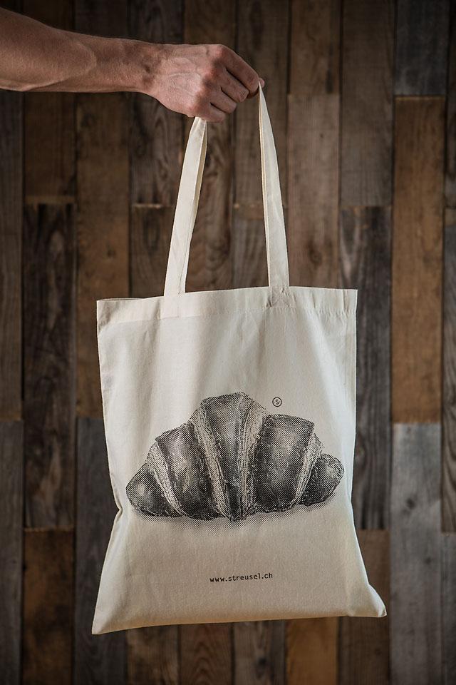 Stofftasche «Croissant» - Jetzt kaufen bei Streusel.ch