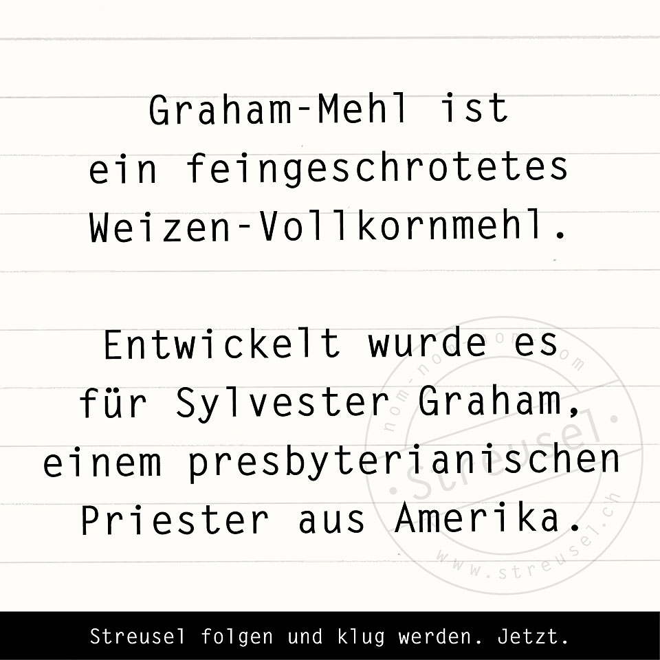 Food Facts zu Graham-Mehl