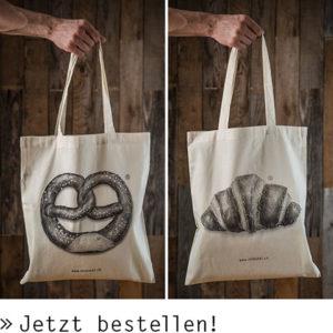 Lässige Stofftaschen von Streusel – jetzt bestellen!