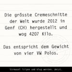 Food Facts zur Cremeschnitte