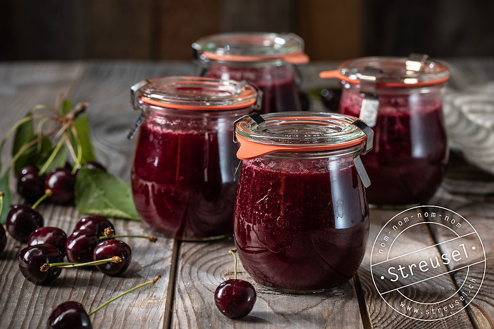 Rezept für Kirschen-Marmelade ohne Gelierzucker – selber machen