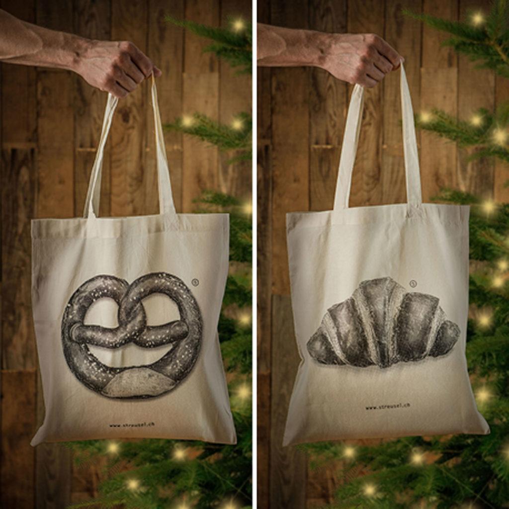 Weihnachtsgeschenk-Idee: Lässige Stofftaschen von Streusel – jetzt bestellen!