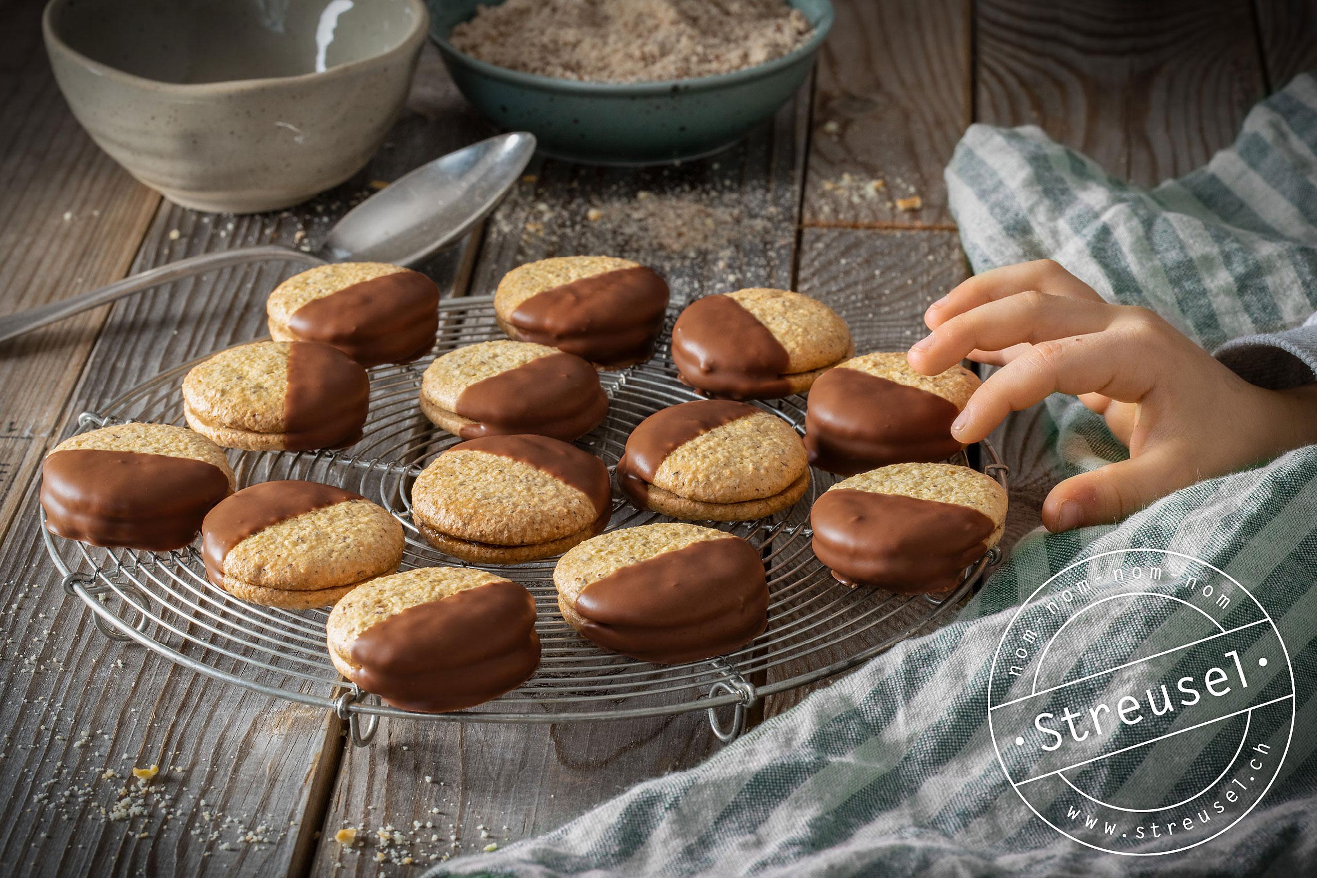Rezept für selbst gemachte Soft Orange Biscuits.