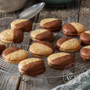 Rezept für selbst gemachte Soft Orange Biscuits